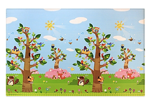 Baby care playmat