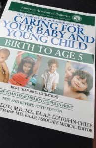 caring for your baby and yound child from birth to age 5